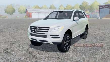 Mercedes-Benz ML 350 (W166) 2011 pour Farming Simulator 2013