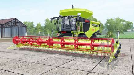 Claas Lexion 780 inch worm pour Farming Simulator 2017