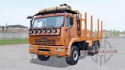 KamAZ-43118 Holz für Farming Simulator 2017