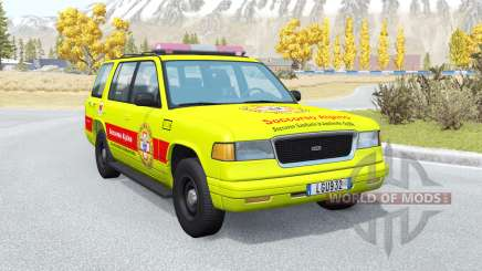 Gavril Roamer Soccorso Alpino v1.2 pour BeamNG Drive
