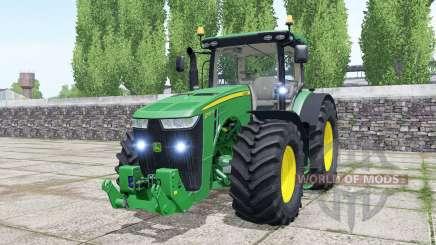 John Deere 8370R spanish green pour Farming Simulator 2017