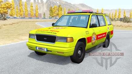 Gavril Roamer Soccorso Alpino v1.1 pour BeamNG Drive