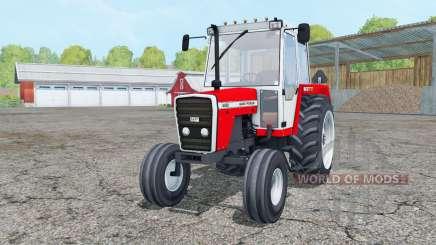 Massey Ferguson 698 red and white für Farming Simulator 2015