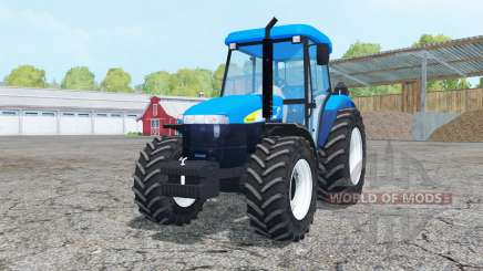 New Holland TD 5050 cyan pour Farming Simulator 2015