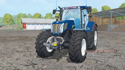 New Holland T7.270 dark blue pour Farming Simulator 2015