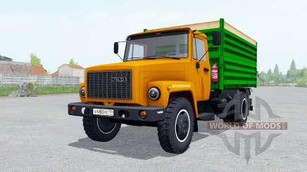 GAZ SAZ 35071 orange jrhfc für Farming Simulator 2017