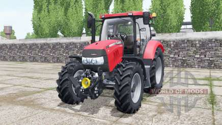 Case IH Maxxum 110 CVX light brilliant red pour Farming Simulator 2017