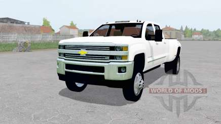 Chevrolet Silverado 3500 Crew Cab (GMTK2H) für Farming Simulator 2017