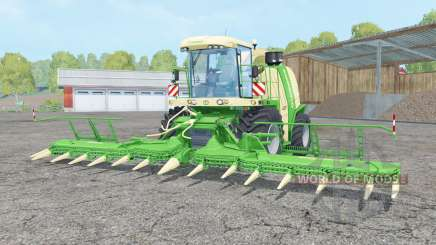 Krone BiG X 1100 lime green pour Farming Simulator 2015