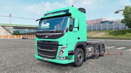 Volvo FM 500 6x2 Globetrotter cab 2013 pour Euro Truck Simulator 2