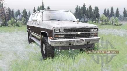 Chevrolet K1500 Suburban 1989 für Spin Tires