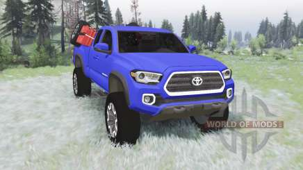 Toyota Tacoma TRD Off-Road Access Cab 2016 v1.2 für Spin Tires