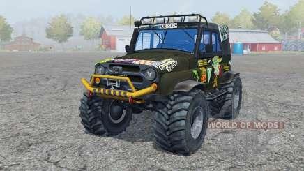 UAZ Hunter (315195-130) Monster für Farming Simulator 2013