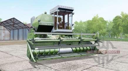Ienisseï 1200-1M dans la couleur de l'asperge pour Farming Simulator 2017