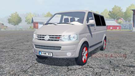 Volkswagen Caravelle TDI (T5) 2009 für Farming Simulator 2013