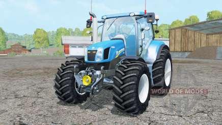 New Holland T6.160 added wheels pour Farming Simulator 2015