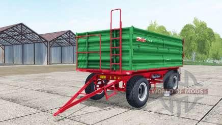 Warfama T-670 lime green pour Farming Simulator 2017