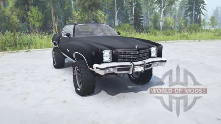 Chevrolet Monte Carlo 1977 lifted pour MudRunner