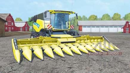 New Holland CR10.90 dual front wheels pour Farming Simulator 2015
