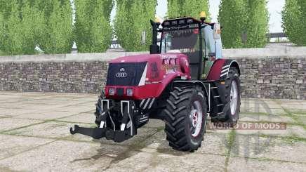 La biélorussie 3022ДЦ.1 de couleur rose chaud pour Farming Simulator 2017
