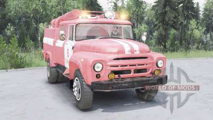 ZIL-130 AC-40 soft-Farbe rot für Spin Tires