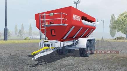 Perard Interbenne 25 bright red pour Farming Simulator 2013