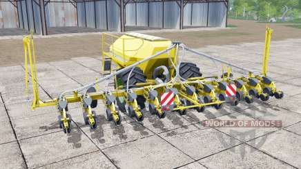 Horsch Maestro 12.75 SW vivid yellow pour Farming Simulator 2017