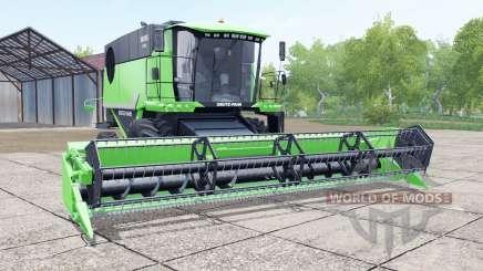 Deutz-Fahr 6095 HTS header trailer für Farming Simulator 2017
