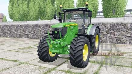 John Deere 6215R very light malachite green pour Farming Simulator 2017