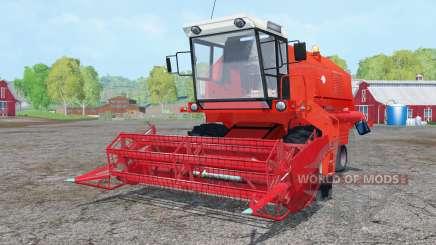 Bizon Z058 vivid red für Farming Simulator 2015