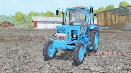 MTZ-80, Bélarus couleur bleu pour Farming Simulator 2015