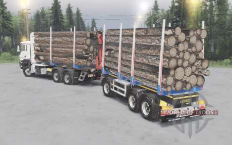 MAN TGS 33.480 pour Spin Tires