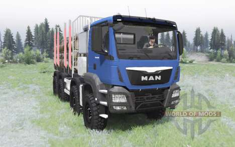 MAN TGS 41.480 2012 pour Spin Tires