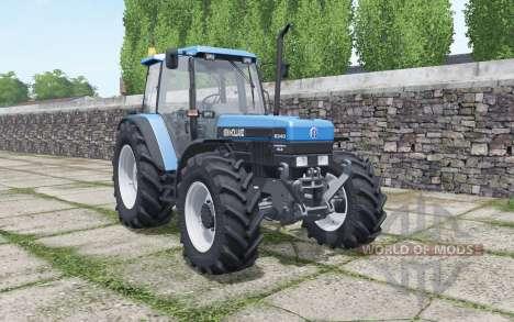 New Holland 8340 new engine sound pour Farming Simulator 2017