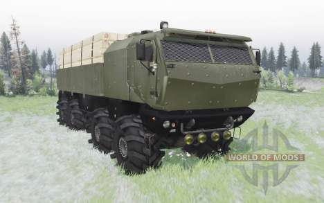KamAZ-53958 Tornade pour Spin Tires