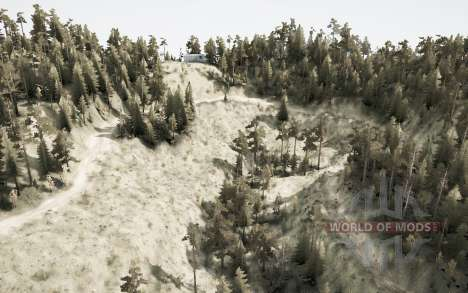 Blackwater Canyon v2.1 pour Spintires MudRunner