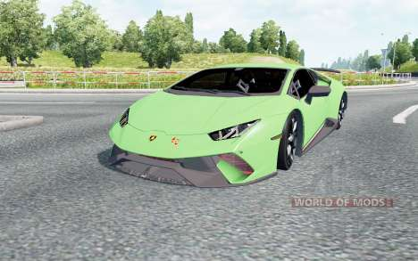 Lamborghini Huracan Performante (LB724) 2017 pour Euro Truck Simulator 2