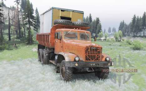 KrAZ-256Б pour Spin Tires