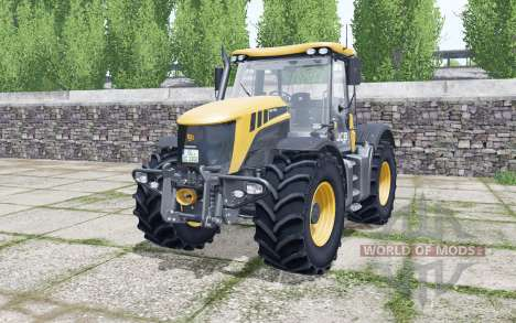 JCB Fastrac 3200 Xtra plus configurationᶊ pour Farming Simulator 2017