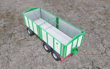 Kroger Agroliner HKD 402 aluminum pour Farming Simulator 2015