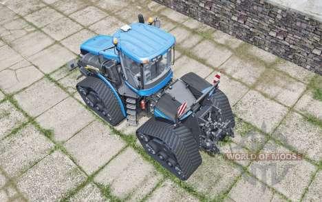New Holland T9.700 SmartTrax spanish sky blue pour Farming Simulator 2017