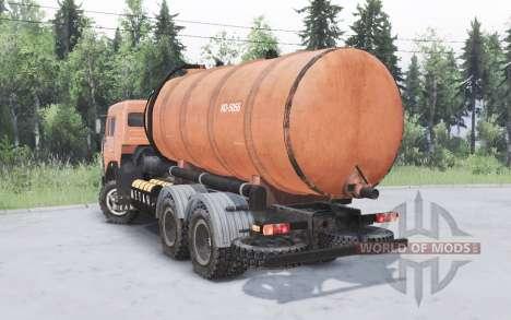 KamAZ-53215 KO 505Б pour Spin Tires