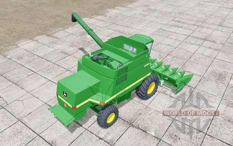 John Deere 9610 wheels selection pour Farming Simulator 2017