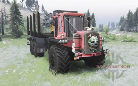 HSM 940F 6x6 pour Spin Tires