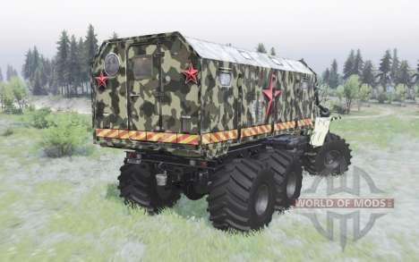 VTS de l'Oural-Polyarnik de l'Armée pour Spin Tires