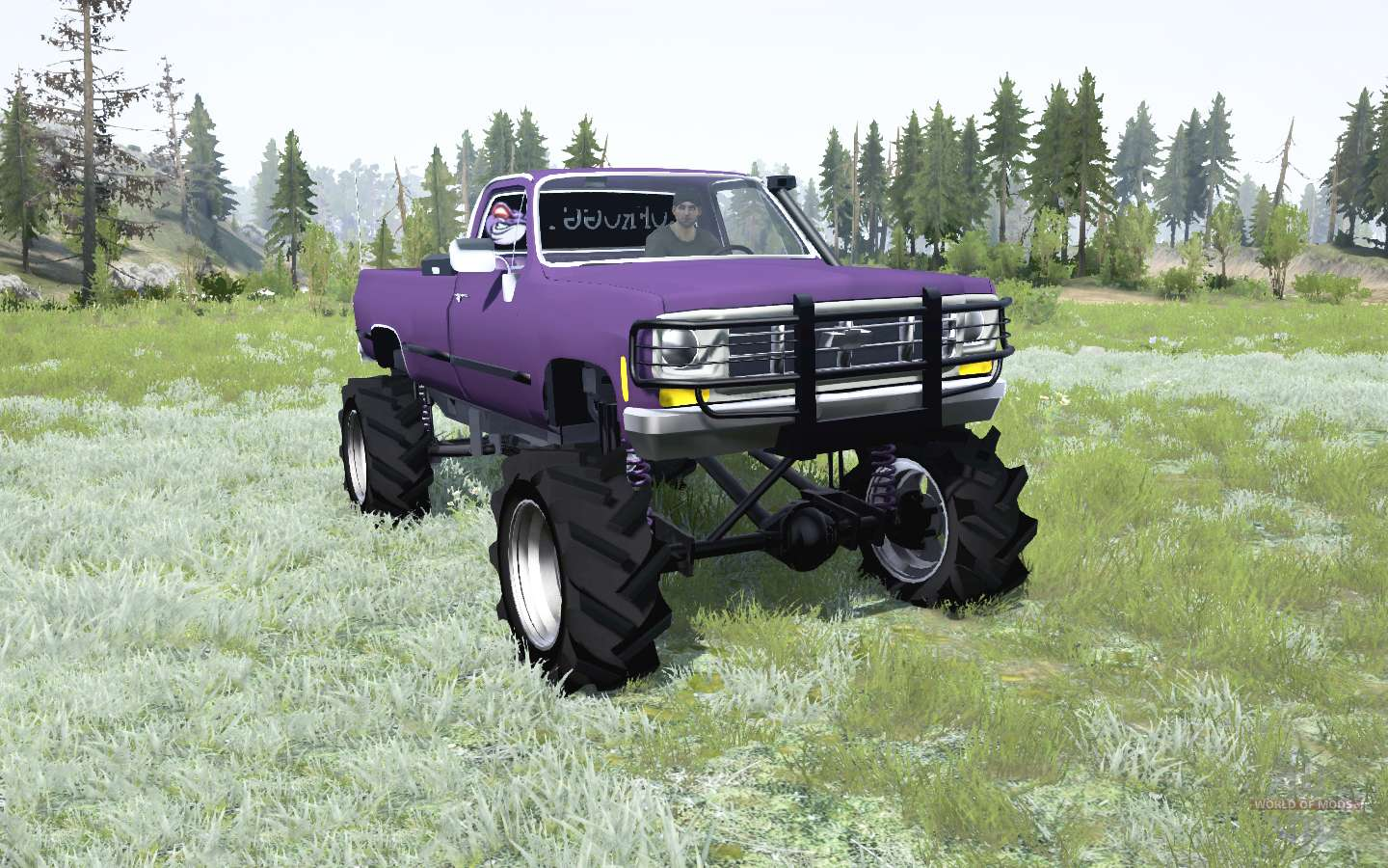 Chevrolet K20 1979 Square Body Für Mudrunner