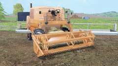 Bizon Z056 tan hide für Farming Simulator 2015