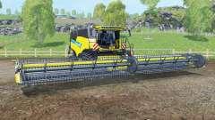 New Holland CR10.90 titane ỿellow pour Farming Simulator 2015