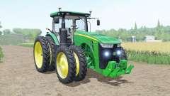 John Deere 8R moving elements für Farming Simulator 2017