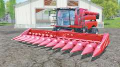 Case IH Axial-Flow 7130 with headers pour Farming Simulator 2015